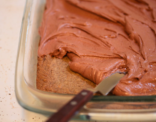 Peanut Butter Blondies With Milk Chocolate Frosting Recipe ...
